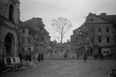 Zerstörte Steubenstraße 6 und 8