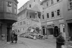 Das beschädigte Kirms-Krackow-Haus