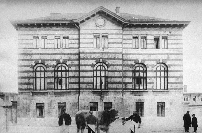 Schlachthof Verwaltungsgebäude, 2019-08-27