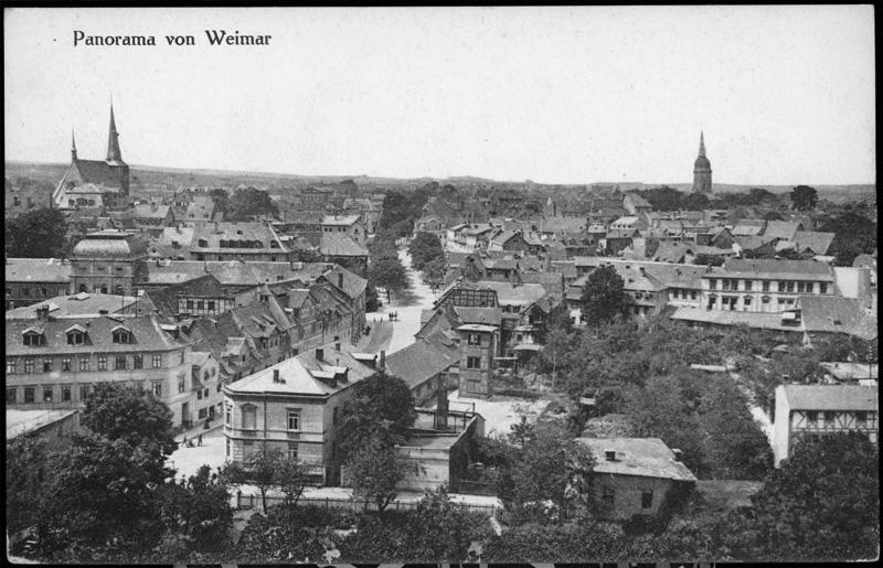 Blick vom Goethe und Schiller Archiv, 2016-08-18