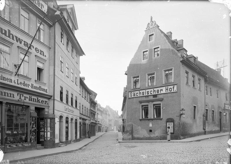Der Sächsische Hof und die Rittergasse, 2020-07-14