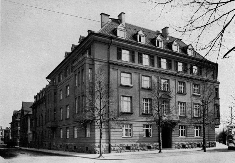 Beamtenwohnhäuser, 2014-08-18