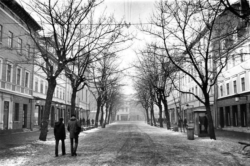 Schillerstraße im Winter, 2013-02-03