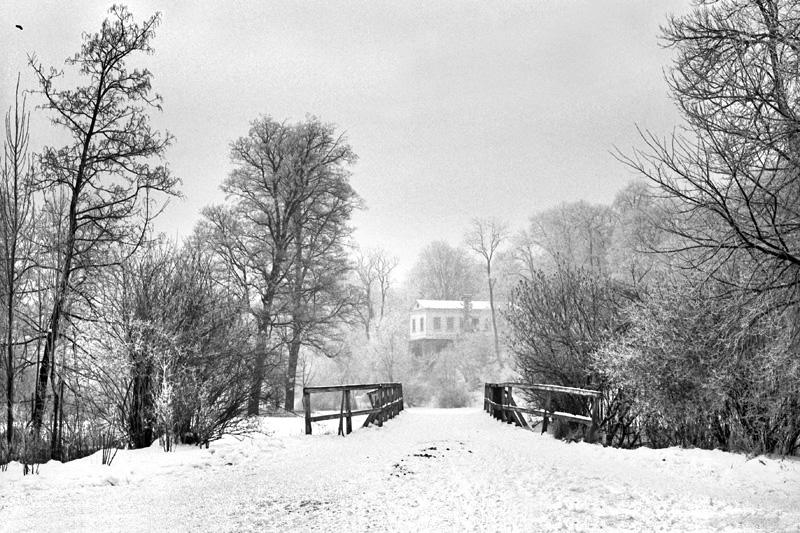 Das Römische Haus hinter der Duxbrücke, 2015-01-23