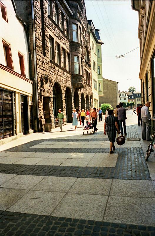 Passanten in der Frauentorstraße, 2017-08-17