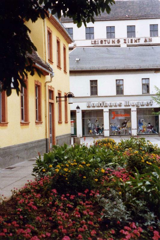 Wittumspalais, Theaterplatz, 2011-11-01