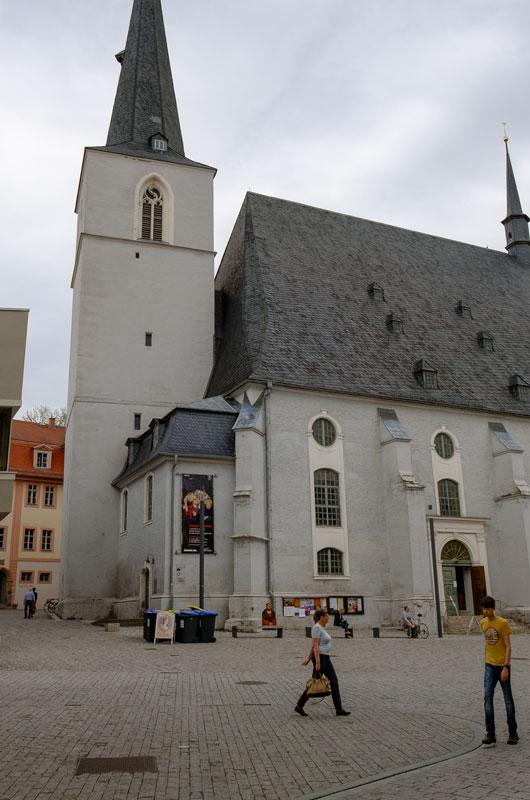 Zerstörte Stadtkirche, 1945-00-00