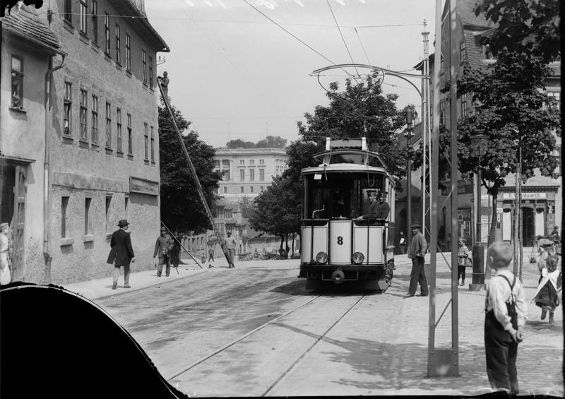 Straßenbahn am Graben, 2018-08-21