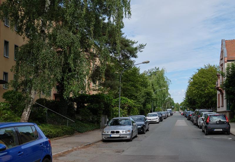 Das vorläufige Ende der Gutenbergstraße, 1969-00-00
