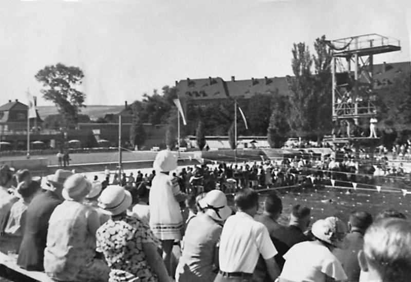Wettkampf im Schwanseebad, 2021-08-12